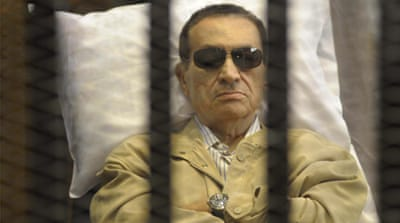 Mubarak given life term for protester deaths