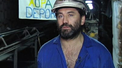 Spanish coal miners strike over subsidy cuts