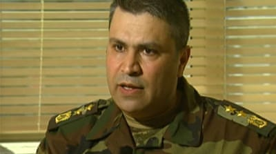 Syrian army defector calls for help
