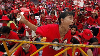 The Red Shirts back constitutional amendments as part of reconciliation plans to end years of political crisis [AFP]