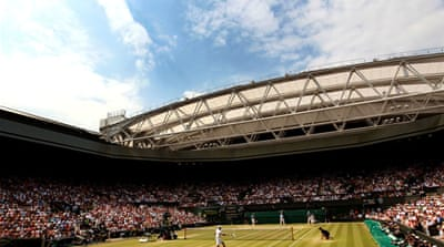 Rain or shine - it's Wimbledon