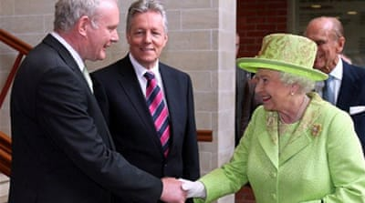 Elizabeth II's cousin was killed by the IRA in 1979 along with three others, including his 14-year-old grandson [AFP]