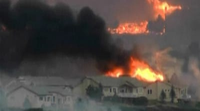 Colorado wildfire sparks mass evacuation