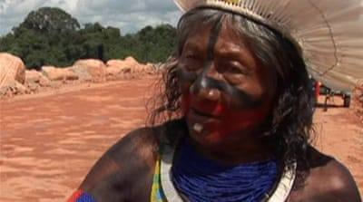 Brazil tribes call for halt to dam project