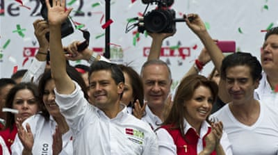 Campaigning ends in Mexico election