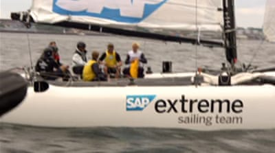 Germans set sail for the Olympics