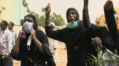 Sudan police fire tear gas at protesters