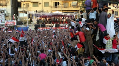 Activists demand that President Mohammed Morsi take a strong stance against the Muslim Brotherhood [Reuters]