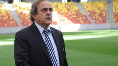 Platini said Spain had an 'outstanding generation' of players and Germany were 'hungry for success' - although he conceded Denmark, Portugal, Italy and France were also contenders [EPA]
