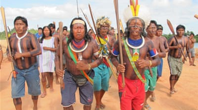 Brazil tribes occupy contentious dam site