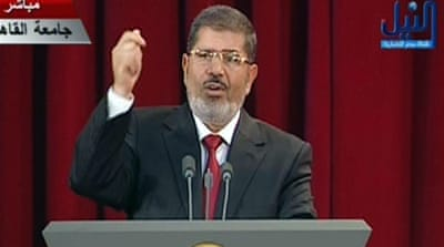 Mohamed Morsi sworn in as Egypt's president