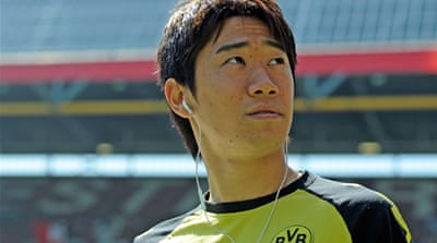 Kagawa helped steer Bundesliga champions Borussia Dortmund to back-to-back titles [GALLO/GETTY]