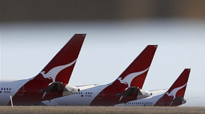 Chief executive Alan Joyce has announced Qantas would split its international arm from its domestic operations [AFP]