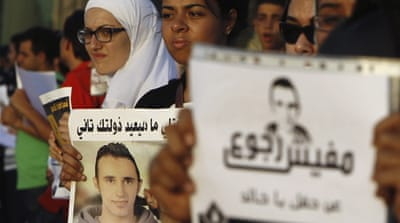 Egyptians remember 'face of revolution'