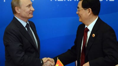 Russia and China: A NATO of the East?