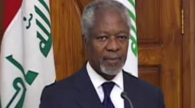 Annan urges end to Syria pockets of violence