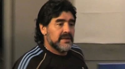 UAE football club sacks Maradona