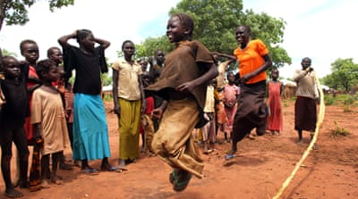 Refugees pour into South Sudan camps