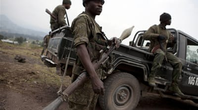 UN troops shell rebel positions in DR Congo