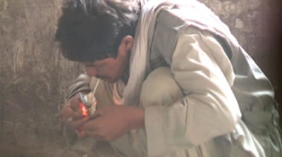 About a quarter of Afghanistan's heroin is trafficked northwards through Central Asia towards Russia [Reuters]