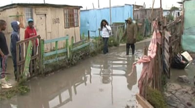 South Africa's poor hit hardest by floods