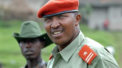 A UN report released in November 2013 said Ntaganda was part of M23's 'de facto chain of command' [AFP]