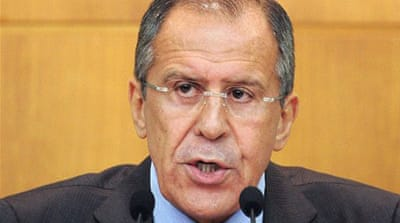 Russia says West using 'blackmail' over Syria