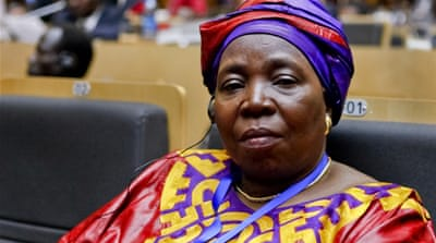 Dlamini-Zuma is South Africa's home affairs minister and an ex-wife of President Jacob Zuma [EPA]