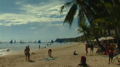 Spat with China drives tourists from Boracay