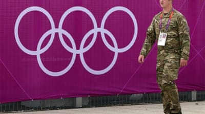 The British armed forces will have to provide an additional 3,500 for Olympic security on short notice [AFP]