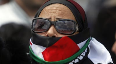 Some observers have ignored nonviolent Palestinian resistance tactics, including recent hunger strikes [Reuters]