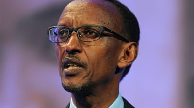 Paul Kagame: 'Rwanda has its own problems'