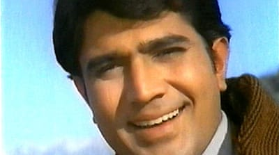 "Rajesh Khanna made his acting debut in 1966 in ""Aakhri Khat"" (The Last Letter) [AFP]"