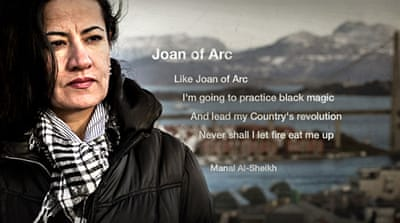 Manal Al Sheikh: Fire Won't Eat Me Up