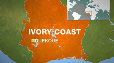 Ivory Coast refugee camp looted and torched
