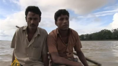 Al Jazeera's Nicholas Haque filed this exclusive report from the Bangladesh-Myanmar border