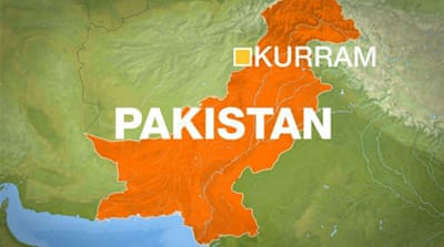 The bombing occurred in the town of Spin Tal, which lies in he Kurram tribal area [Al Jazeera]