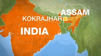 Clashes over land erupt in India's northeast