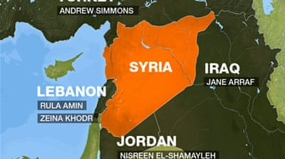 Interactive: The battle for Syria's borders