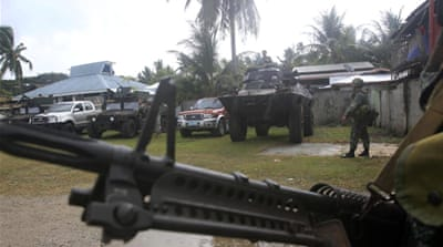 The Philippine army has battled rebels fighting for independence for more than 30 years [Reuters]