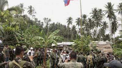 Abu Sayyaf rebels have been blamed for kidnappings of tourists and are blacklisted as 'terrorists' by the US [AFP]