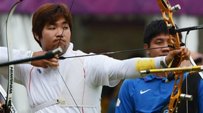 Legally blind Im Dong-hyun broke his own record in the 72-arrow mark that he had set in Turkey in May by three points with a score of 699 [EPA]