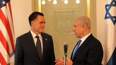 Mitt Romney and conservative Israeli Prime Minister Binyamin Netanyahu are old friends [Reuters]