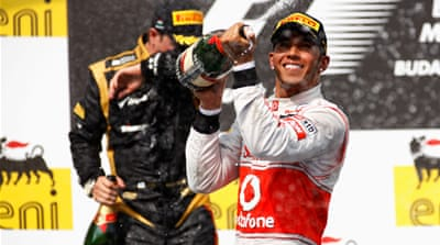 Hamilton won the Championship with McLaren in 2008 and is after a fresh challenge with Mercedes [Reuters]
