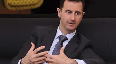 Assad has told a Turkish newspaper he wished his forces had not shot down a Turkish jet last month [Reuters]
