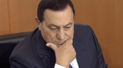 Mubarak was sentenced to life in prison for his involvement in the death of protesters during the 2011 uprising [EPA]