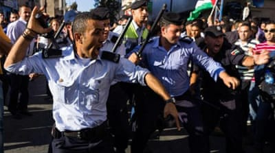 In pictures: Ramallah protests