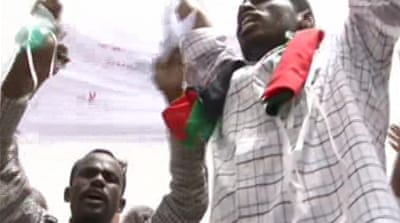Protesters 'attacked' by police in Sudan