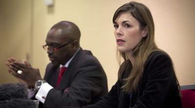 Melinda Taylor and her colleagues were held in a prison for three weeks after visiting Saif al-Islam Gaddafi [AFP]