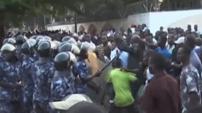 Police fire tear gas at 'Save Togo' protest